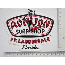 Adesivo Ron Jon Surf Shop Miami Florida Ft Lauderdale