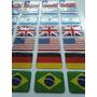 Adesivos Resinados Bandeiras - Escolher Modelo