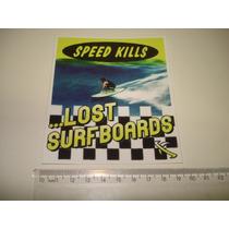 Adesivo Externo Importado Lost Surf Frete Gratis