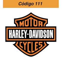 Adesivo Vinil Harley Davidson Logo - Código 111