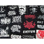 Lote 30 Patches Bandas Metal | Revenda