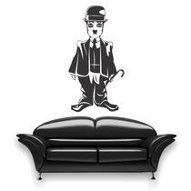 Adesivo Decorativo Chaplin - Tamanho Médio