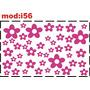 Adesivo I56 Flores Florezinhas Florzinhas Quarto Menina