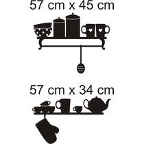 Adesivo De Parede Cozinha Utencilios Domésticos