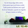Adesivo Decorativo De Parede Frases Bíblicas Lc12.49