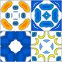 Adesivo Azulejo Mosaicos - 10 Cm