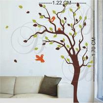 Adesivos Decorativo Papel Parede Árvores Florais L Berço