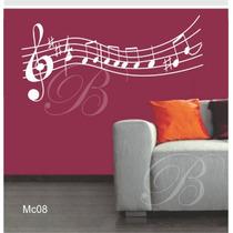 Adesivo Decorativos Notas Musicais Frete Grátis