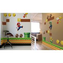 Adesivo Decorativo Parede Super Mario Bros
