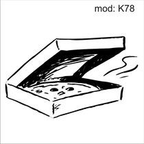 Adesivo K78 Alimentos Caixa De Pizza Massa Mussarela Calabre