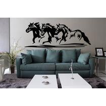 Adesivo Decorativo Parede Quarto Sala Cavalo Cowboy Rodeio