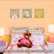 Adesivo Para Parede Urso De Pelúcia 3d - Exclusividade