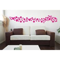 Adesivos Decorativo De Parede Kit Com 70 Flores Infantil Box