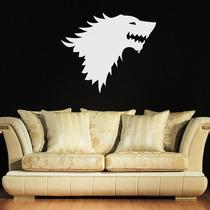 Adesivo Decorativo Game Of Throne - Casa Stark - 47x38cm