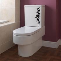 Adesivo De Parede Banheiro Box Vaso Assento Sanitário