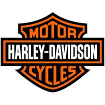 Adesivo Logo Harley Davidson 1 Metro P/ Parede Decoração