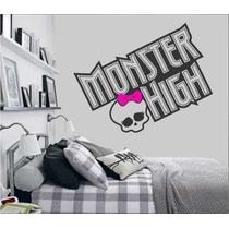 Adesivo Decorativo De Parede - Monster High - Lançamentos!!