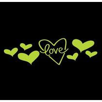 Adesivo Papel Parede Brilha No Escuro - Love2 + Frete Grátis