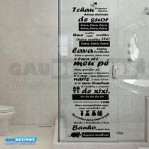 Adesivo Decorativos De Banheiro Tema Castelo Rá-tim-bum Box