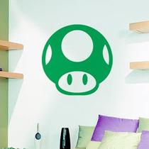 Adesivo Decorativo - Super Mario - Vida 1 Up - 47x47cm