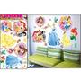 Adesivo Decorativo Parede - Ursinho Puff, Flores, Pássaros