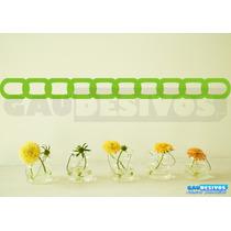 Adesivo Decorativo Faixa Border, Floral, Flores, Coração Box