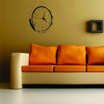 Adesivo Decorativo Parede Relógio Sala Quarto Cozinha