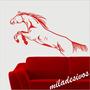 Adesivo Para Decoração Parede Modelo Cavalo Crioulo Pulando