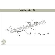 Adesivo Rio De Janeiro 4- Cristo Rententor - 55cmx150cm Alt