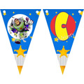 05 Bandeirola Personalizada R$ 10,00 - Toy Story - Adriarts