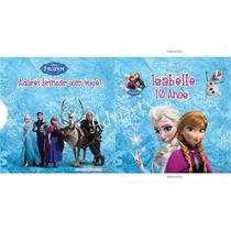 Kit 10 Capas Personalizadas Cd Ou Dvd - Frozen - Adriarts