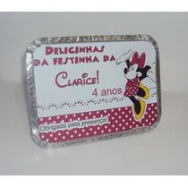 250 Rótulo Adesivo Personalizado Para Marmitinha 220ml