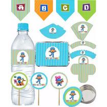 Adesivos, Tags E Impressos Personalizados Festa Infantil
