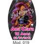 50 Rótulos Adesivos Esmalte Monster High - Adriarts