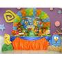 Kit Festa Infantil 50 Convites + 1 Painel Infantil+ 50 Copos