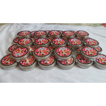Lembrancinha 100 Latinhas Personalizadas Mint To Be Adesivo