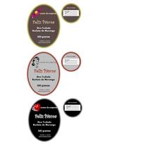 Rótulos Adesivos Personalizados Para Ovos De Páscoa - Kit