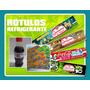 Rótulos De Refrigerante Personalizados - Kits