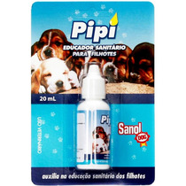 Educador Sanitario Para Pipi - 20 Ml - Sanol Dog