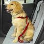 Peitoral + Adaptador P/ Cinto Segurança P/ Cães - Tamanho M