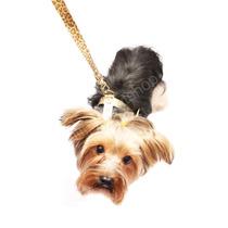 Peitoral Ajustável C/ Guia Cães Cachorros Coleira Regulável