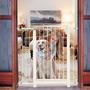 Grade De Porta Para Cães E Bebês - Tubline+frete Gratis
