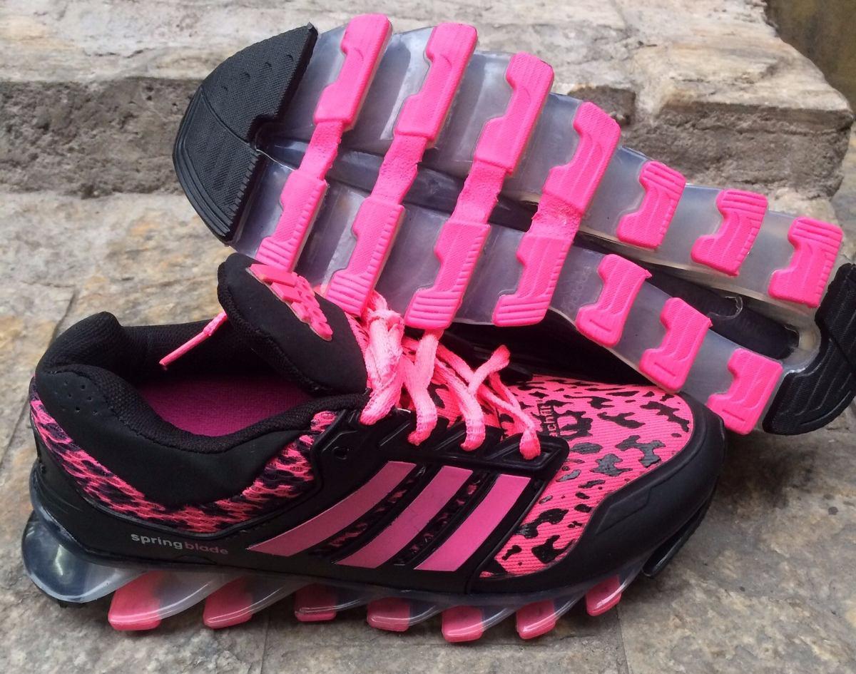 imagens do adidas springblade rosa