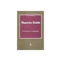 Livro A Evolução Do Capitalismo Maurice Dobb