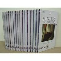 Livro Vinhos Do Mundo 16 Volumes Adega Veja