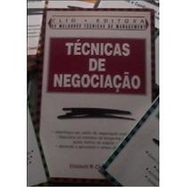Livro Técnicas De Negociação Editora Clio - Frete Grátis!
