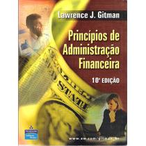 Princípios De Administração Financeira Laurence J.gitman 10ª