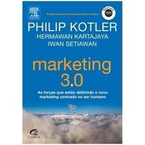 Livro - Marketing 3.0 Por Philip Kotler - Novo