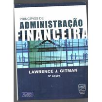 Princípios De Administração Financeira Seminovo 12ª Ed. - L2