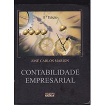 Livro: Contabilidade Empresarial - José Carlos Marion